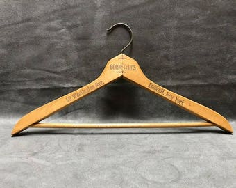 Vintage Bornstein's Wooden Hanger