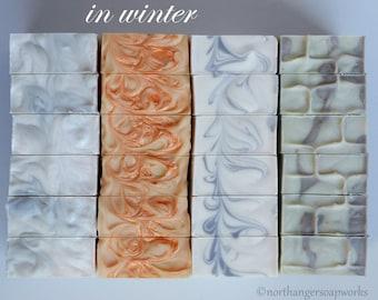JANE AUSTEN in WINTER Soap Collection | Quarterly Box | Seasonal Box