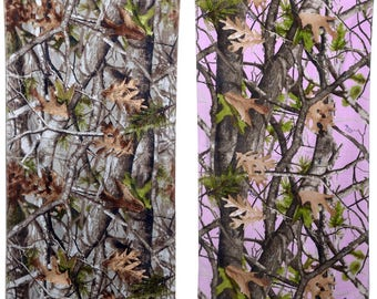 """His and Hers Camo Beach Towels 30"""" By 60"""""""