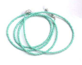 Jade Green Glasses chain Beaded Lanyard Cord Chain Strap Spectacles Sunglasses