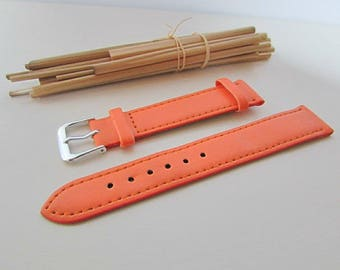 18 mm - 7 colors - 30.400 leather wristwatch