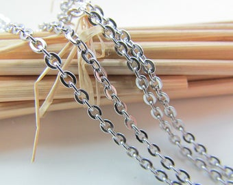 3 m chain stainless steel - mesh 2.5 x 2 mm - 43.50