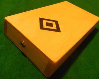Stomp box  Foot drum  Stomper  Cajon drum  Cigar box guitar  Handmade  New