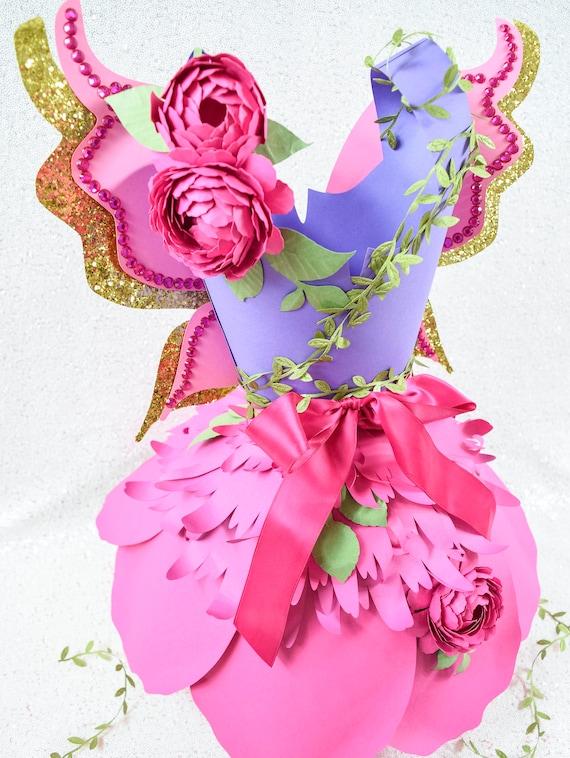 paper dress templates  diy paper flower dress templates