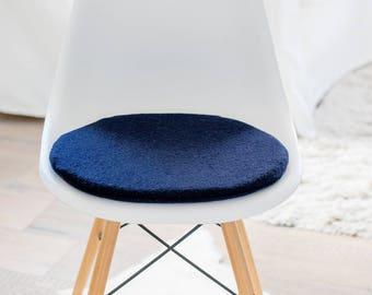 Chair cushions in dark blue, fits on the Eames Chair, limited