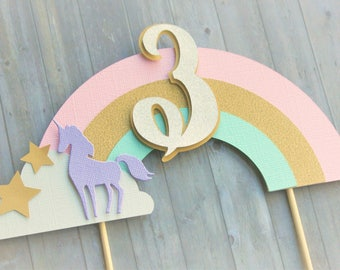 Cake Topper, Unicorn Cake Topper, Unicorn Decorations, Unicorn Birthday, Unicorn Party Decor, Party Decorations