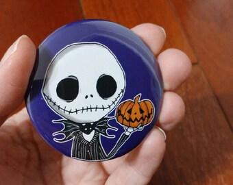 Pinback Button- The Pumpkin King