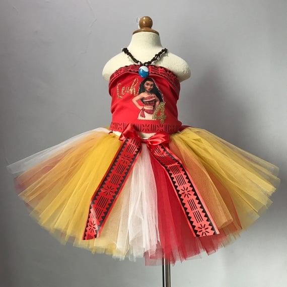 Moana Birthday Outfit Moana Inspired Costume Moana Halloween