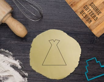 Teepee tent cookie cutter