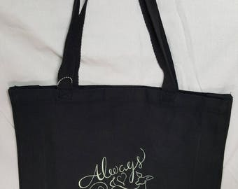 "Harry Potter ""Always"" Canvas Tote Bag"