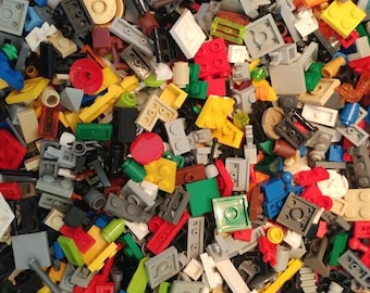 Bulk LEGO Lot of Over 1000 Small Pieces, Great for Detail! Nice Variety! Like New! Great for the Creative Individual Who Loves Minor Details