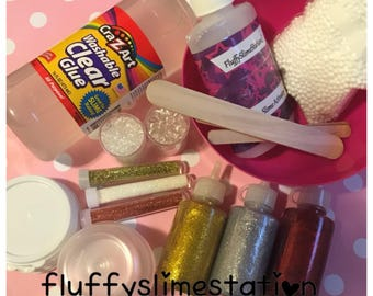 Glitter Slime Kit with Extras