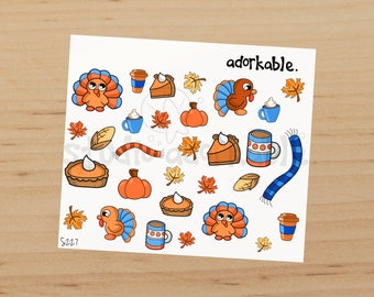 Gobbles Glossy Stickers / S227