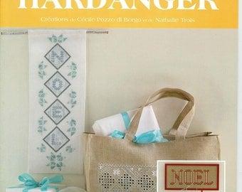 """Hardanger """"Noël"""": un livret de modèles écrit à 4 mains 14862/22"""
