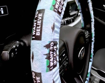 I Want To Believe Steering Wheel Cover