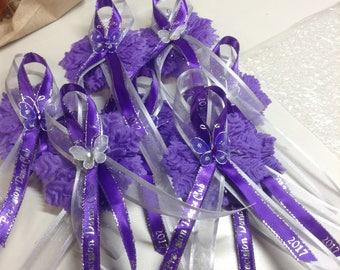 Purple Butterfly Capias