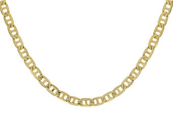 "14K Yellow Gold Gucci Link Chain 20"" Inches 14.8 Grams"