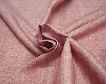 454121-natural Silk Rustic 100%, wide 135/140 cm, made in India, dry-washed, weight 228 gr