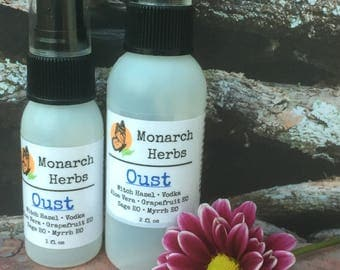 Oust Cleansing Spray