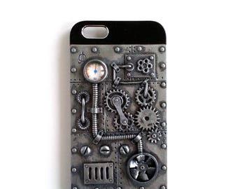 Steampunk iPhone 6 Case. iPhone 6s Case. Steampunk Phone Case. Vintage Victorian Design. Dieselpunk. Steampunk accessories for iPhone. Gears