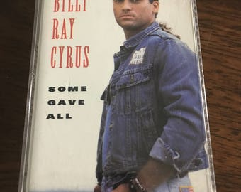 Billy Ray Cyrus Some Gave All Cassette Tape