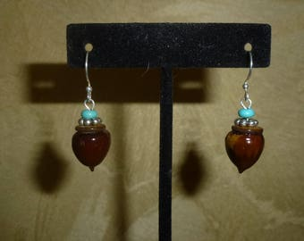Acorn Earrings #202