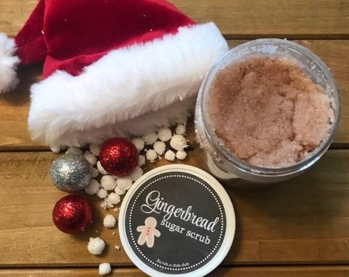 Homemade Gingerbread Sugar Scrub. Lake Life Candle Co.