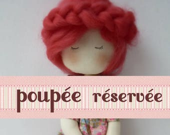 rag doll dress liberty Linette