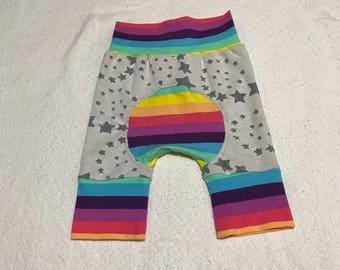 Bornout star shortie