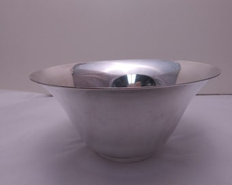 Tiffany & Co. Sterling Silver Bell Form Bowl