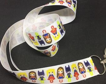Super Hero Girls Lanyard