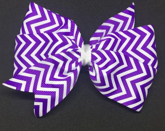 "5.5"" Purple Chevron"