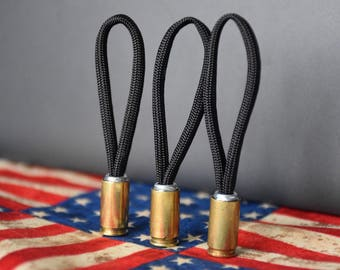 Recycled Bullet Casing Zipper Pull