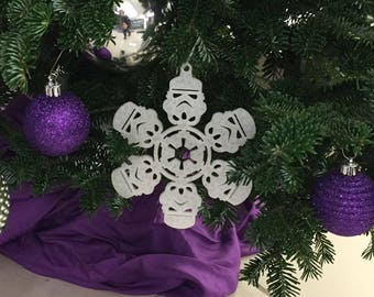 Star Wars Christmas Ornaments Etsy UK - Star Wars Christmas Tree Ornaments
