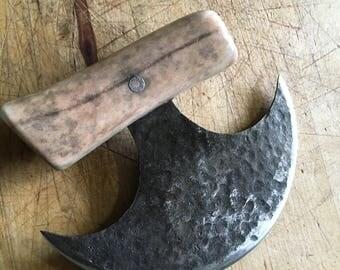 Hand forged Ulu