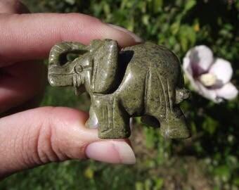 1 ELEPHANT PYRITE CRYSTAL GEMSTONES 39 X 26 X 21 MM.