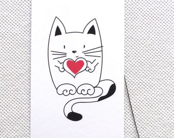 ETSY 100 FASHION BOUTIQUE  Tags Clothing Tags Price Tags Cute Cat with Heart Tags Plastic Loop Pins  Accessories Tags at Etsy