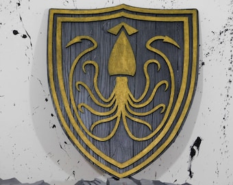 House Greyjoy crest Game of Thrones wall art