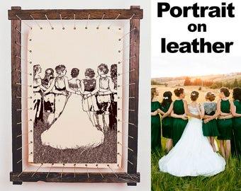 Any Image On Leather - Short Bridesmaid Dresses, Gold Bridesmaid Dresses, Plus Size Bridesmaid Dresses, Wedding Reception, Wedding Registry