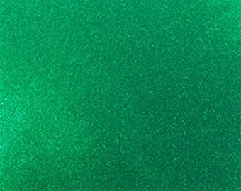 "131 Green 12""x 12""  StyleTech 2000 Ultra Metallic Glitter Adhesive Indoor / Outdoor Vinyl - Similar to Oracal 651"