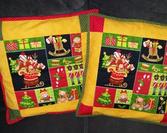 "Pillowcase ""Christmas"", cushion cover, pillowslip"