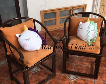 Unicorn decorative pillows