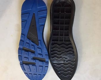 Shoe soles.Rubber TR flexible, shoes from skin, felt and knitted, size 40, 41, 42, 43, 44, 45