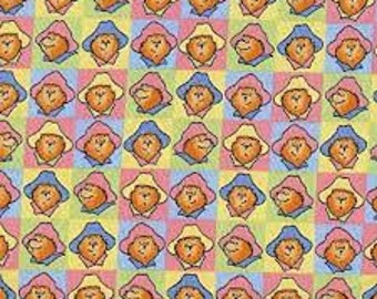 "Paddington Bear for Quilting treasures, 43-44"" wide, 100% cotton"