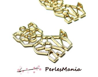 PAX 5 pendants, charm 30mm ORIGAMI dog DORE S1185431