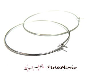 10 quality 40mm, ref 32 stainless steel hoops