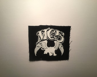 MC5 hand printed patch