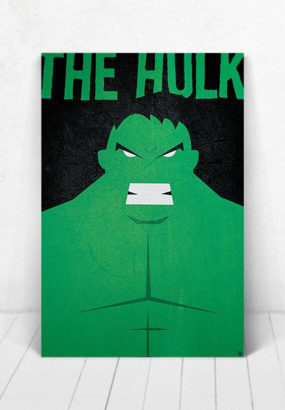 The Hulk Poster - Illustration / The Hulk Poster / The Hulk