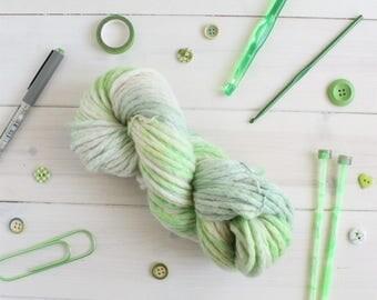 Avada - Harry Potter themed hand dyed yarn - super chunky, super bulky - 100g - merino wool