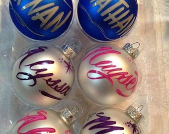 Personalized ornaments